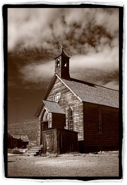 Bodie California Wall Art - Photograph - Old Church In Bodie California by Steve Gadomski