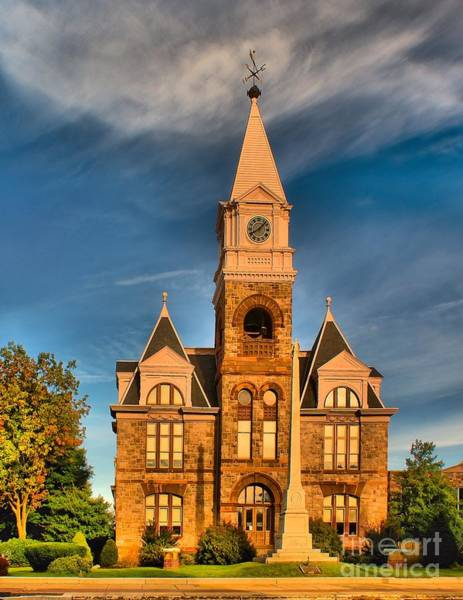 Courthouse Towers Wall Art - Photograph - Old Courthouse by Nick Zelinsky