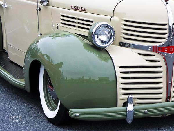 Photograph - Old Dodge by Trish Tritz