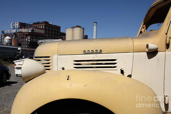 Photograph - Old Dodge Truck At The Old C And H Sugar Plant . 5d16786 by Wingsdomain Art and Photography