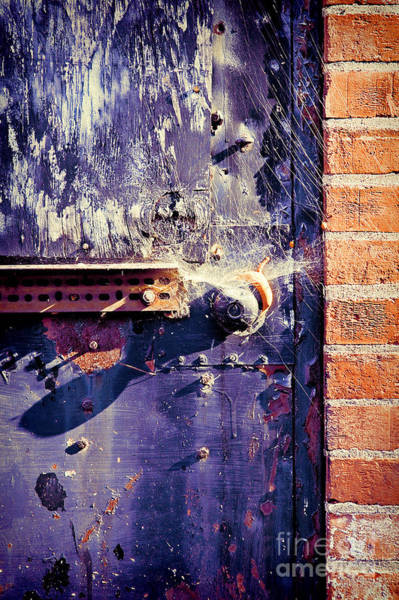 Warehouse Photograph - Old Door by HD Connelly