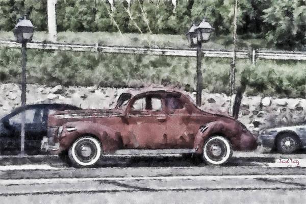 Photograph - Old Faithful by Trish Tritz