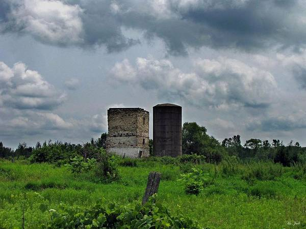 Photograph - Old Farm Ruins by Ms Judi