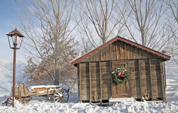 Christmas Season Wall Art - Photograph - Old-fashioned Christmas 1 - Gardener Village by Steve Ohlsen