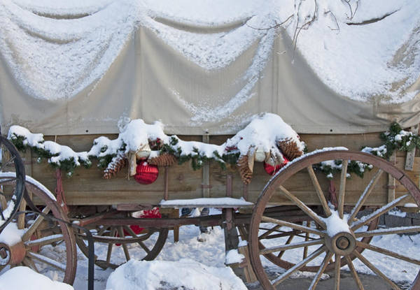 Christmas Season Wall Art - Photograph - Old-fashioned Christmas 3 - Gardener Village by Steve Ohlsen