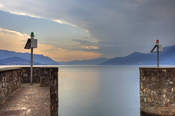 Lake Maggiore Photograph - Old Habour by Joana Kruse