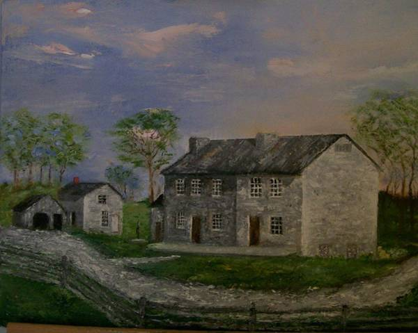 Stephen King Painting - Old Homeplace by Stephen King