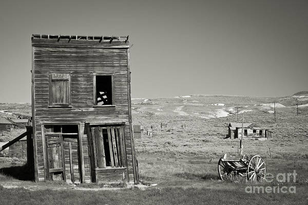 Bodie Ghost Town Wall Art - Photograph - Old House In Bodie by Olivier Steiner