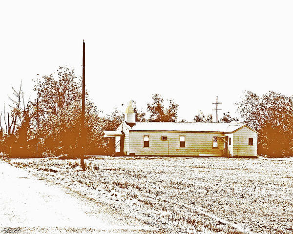 Photograph - Old Hwy 61 Church by Lizi Beard-Ward