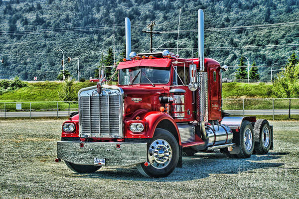 Wall Art - Photograph - Old Kenworth Hdr by Randy Harris