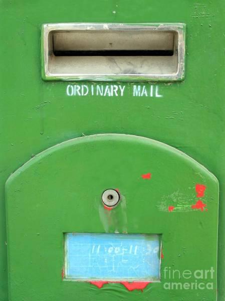 Mail Slot Photograph - Old Mailbox by Yali Shi