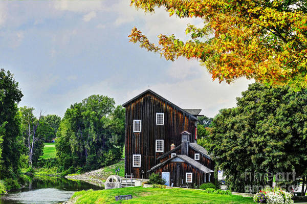 Frankenmuth Photograph - Old Mill by Rodney Campbell