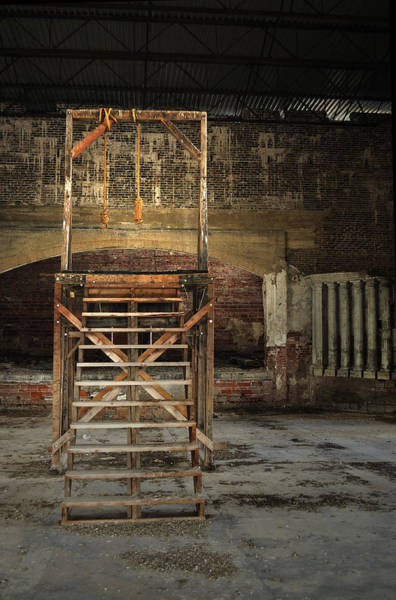 Photograph - Old Montana Prison by Fran Riley