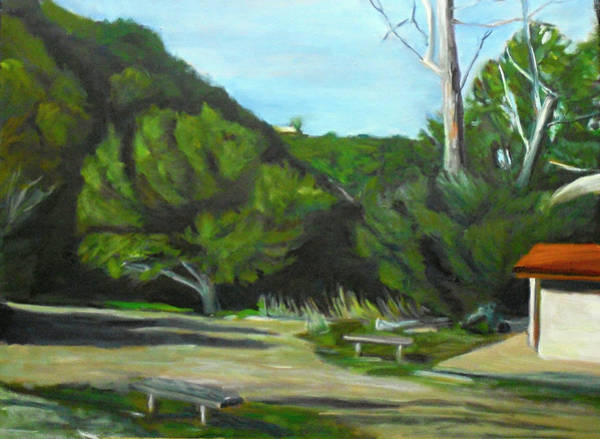 Painting - Old Oak Marion Bear Color by Jeremy McKay