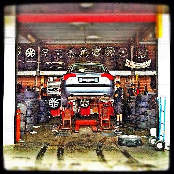 Old Pic When Getting New Wheels Do My Art Print