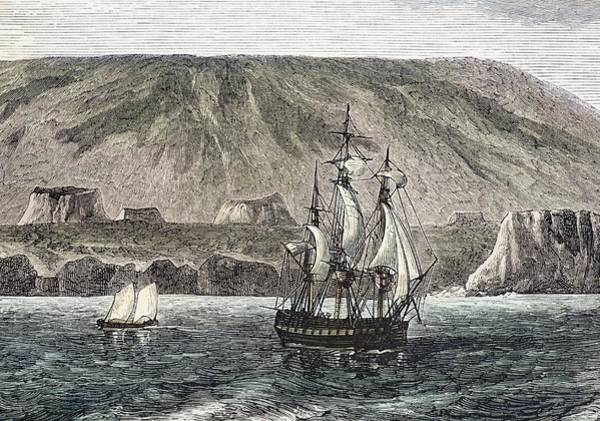 Melville Photograph - Old Sail Ships Galapagos Island Isabela by Paul D Stewart