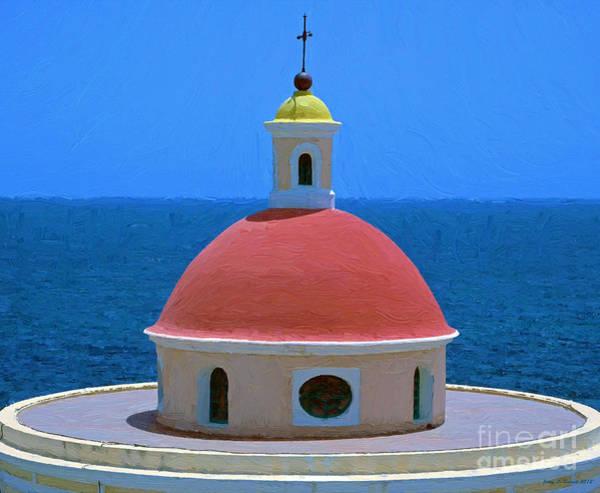 Mixed Media - Old San Juan by Jerry L Barrett