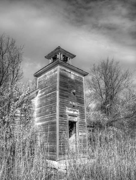 Photograph - Old School House by HW Kateley