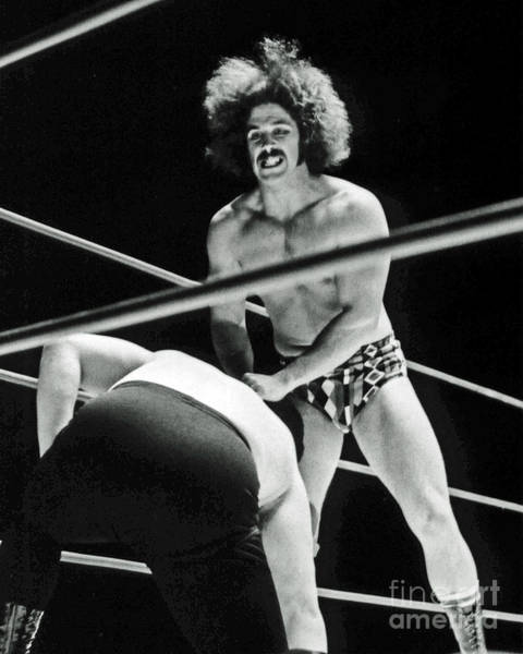 Wall Art - Photograph - Old School Wrestling   by Jim Fitzpatrick
