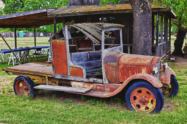 Wall Art - Photograph - Old Timer by Garry Gay