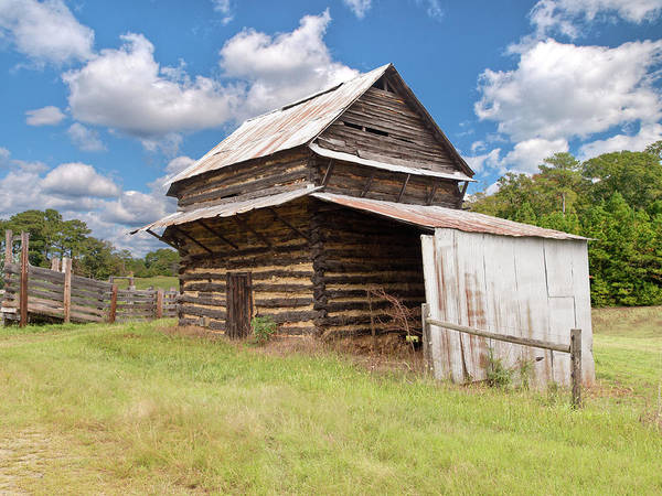 Photograph - Old Tobacco Barn by Mike Covington