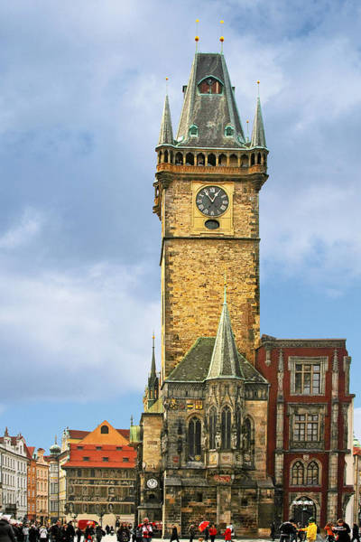 Photograph - Old Town Hall Prague Cz by Christine Till