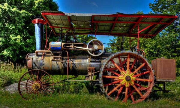 Photograph - Old Tractor by Nick Mares