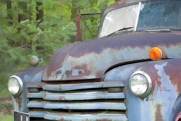 Dump Truck Photograph - Old Truck IIi by John Crothers