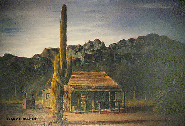 Painting - Old Tucson Home by Frank Hunter