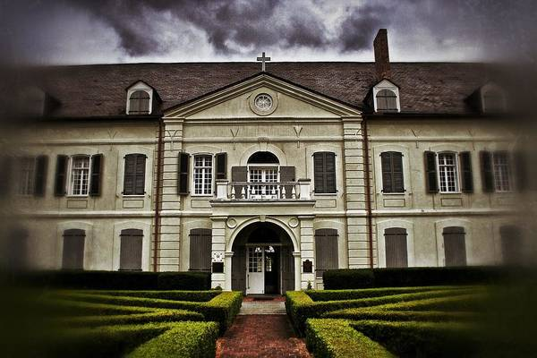 Photograph - Old Ursuline Convent by Jim Albritton