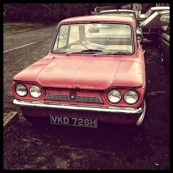 Vehicle Photograph - #old #vintage #vehicle #motor #motorcar by Miss Wilkinson