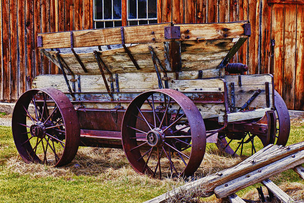 Wall Art - Photograph - Old Wagon Bodie Ghost Town by Garry Gay