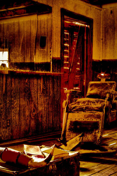 Photograph - Old West Barber Shop At Bonnie Springs Ranch by David Patterson