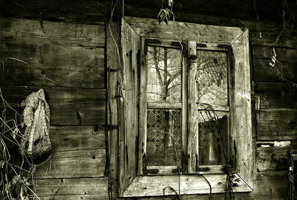 Photograph - Old Window by Emanuel Tanjala