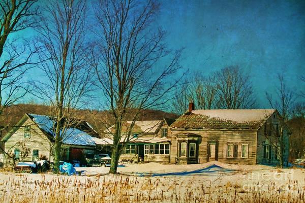 Photograph - Olde Time Rural Vermont by Deborah Benoit