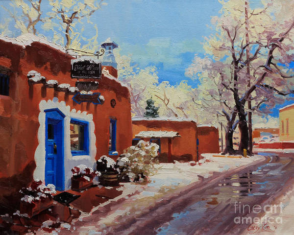Enchantment Painting - Oldest Adobe House  by Gary Kim