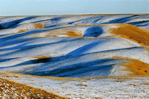 Lethbridge Photograph - Oldman River Valley In Winter by Mike Grandmailson