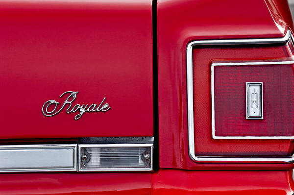 Photograph - Oldsmobile Royale Taillight by Jill Reger
