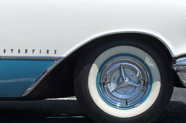 Photograph - Oldsmobile Starfire Wheel by Jill Reger