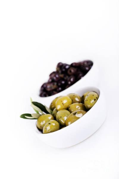 Greece Photograph - Olive Bowls by Jane Rix