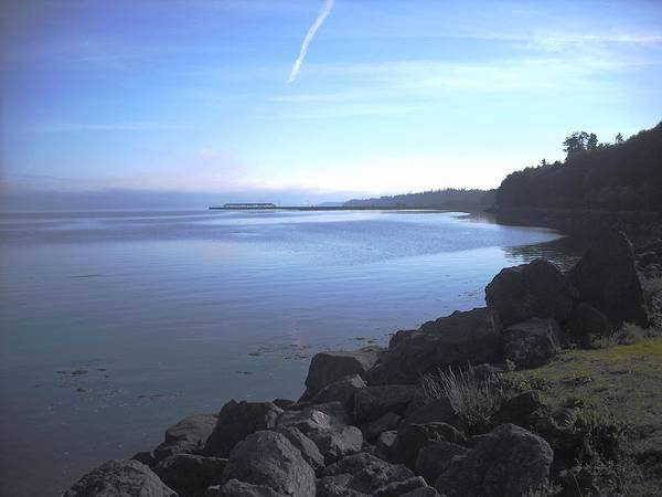 Olympic Discovery Trail Port Angeles Art Print