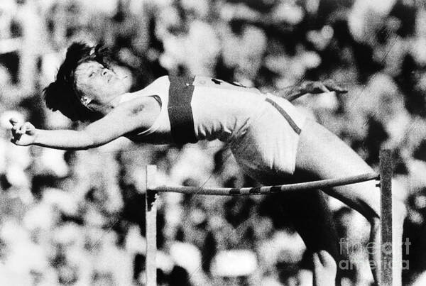 Photograph - Olympic Pole Vault, 1972 by Granger