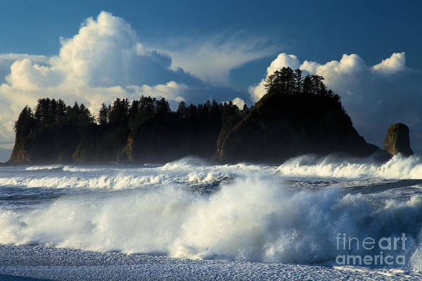 Photograph - Olympic Surf by Adam Jewell