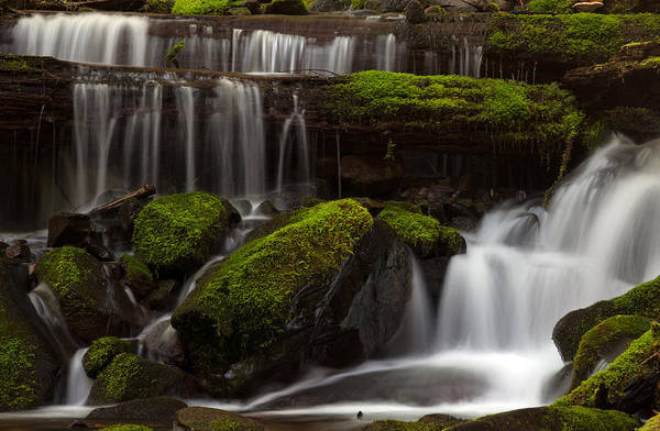 Olympics Photograph - Olympics Gentle Stream by Mike Reid