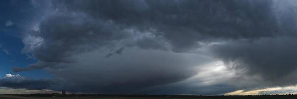 Ominous Clouds Edmonton Art Print