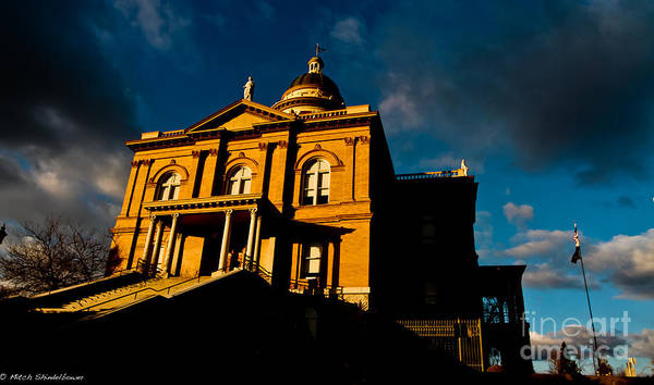 Court House Photograph - Omnius by Mitch Shindelbower