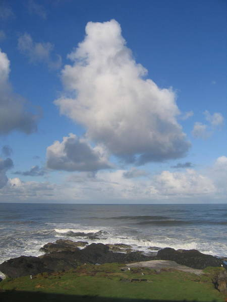 Photograph - On Approach To Yachats Oregon  by Cliff Spohn