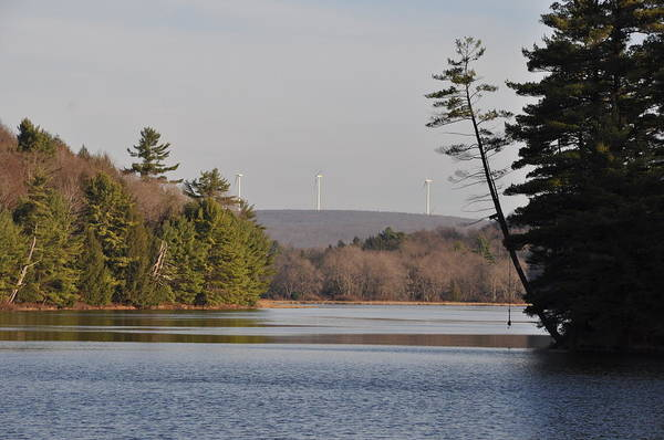 Pocono Mountains Wall Art - Photograph - On Bear Creek Lake by Bill Cannon