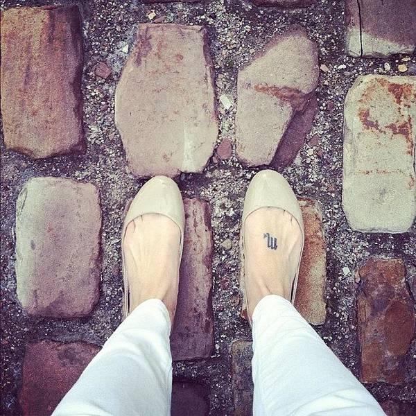 Wall Art - Photograph - On My Way To #lagerhaus!  #cobblestone by Jenna Luehrsen