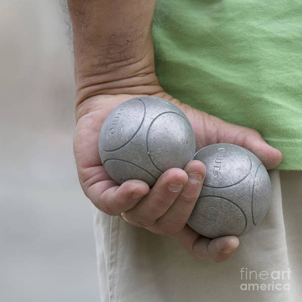 Photograph - On The Boules Pitch by Heiko Koehrer-Wagner